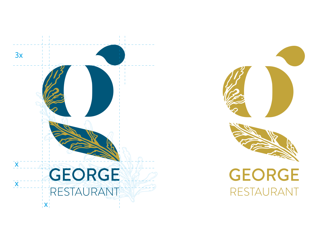 George RestaurantLogo_costruzione