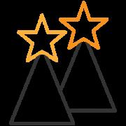 MEDIASTAR WINNER Continuum Experience Design si aggiudica due prestigiosi riconoscimenti alla XXV edizione del Premio Mediastars, importante riconoscimento tecnico della pubblicità. La nostra agenzia, iscritta alla categoria Corporate Identity, ha presentato il progetto di restyling della testata giornalistica Il Bollettino gareggiando con altri 500 progetti, per un totale di 222 professionisti coinvolti e 12.987 giudizi inviati da una giuria qualificata.
